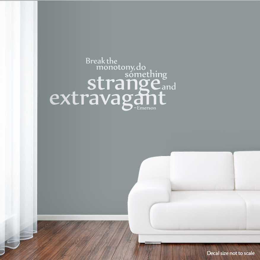 Attrayant Wall Art Decal ...