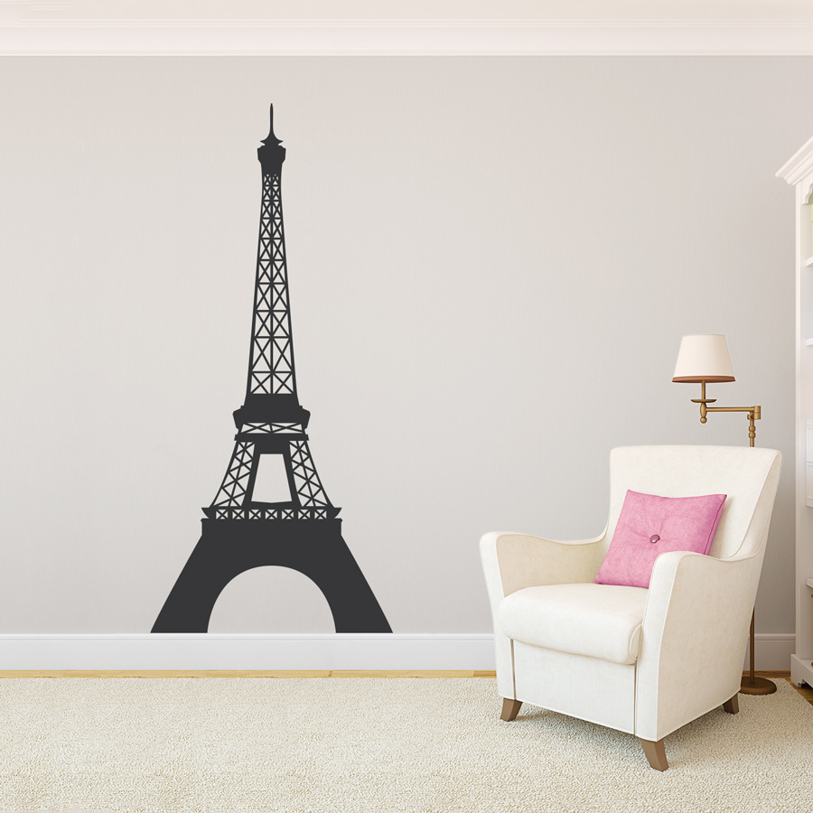 eiffel tower wall decal sticker eiffel tower giant wall stickers home decor wall stickers