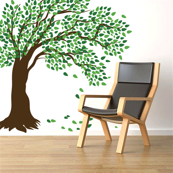 Windy Tree Wall Decal ... Part 16