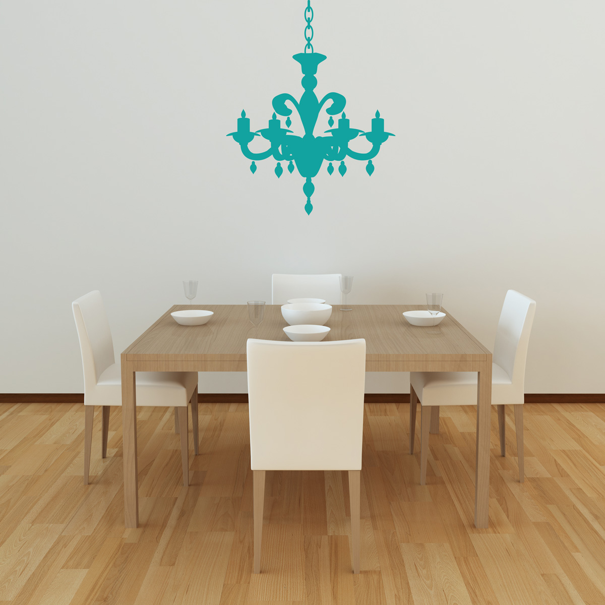 Chandelier Wall Decal Style 7