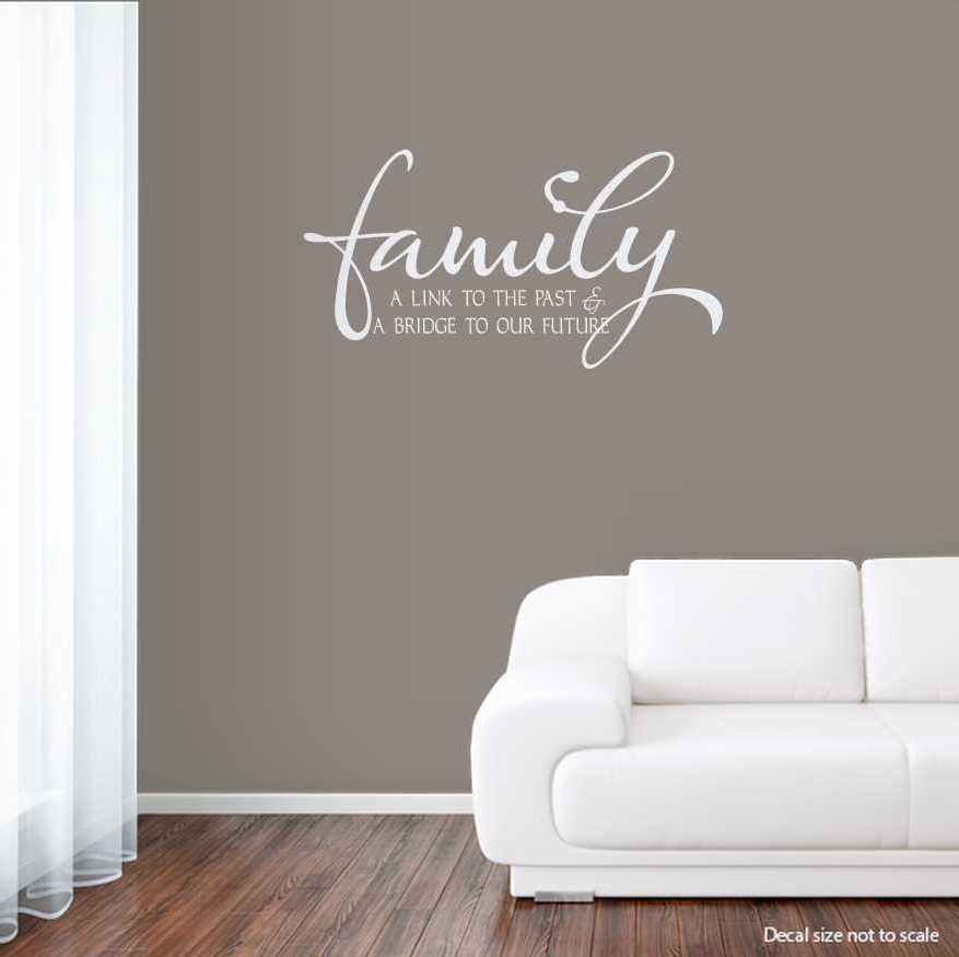 Family A Link To The Past Wall Art Decals - Wall decals about family