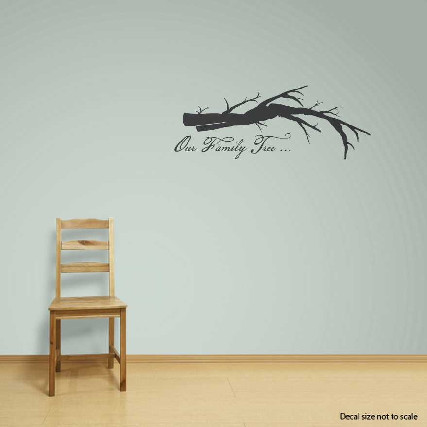Family Tree Wall Art Family Gallery Tree Wall Decal