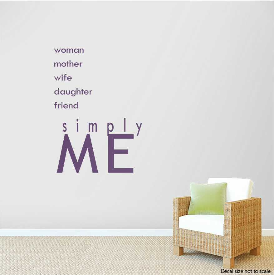 Wall Art Decals woman mother wife daughter friend wall art decals