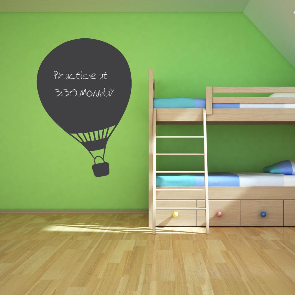 Hot air balloon chalkboard wall art decal amipublicfo Images