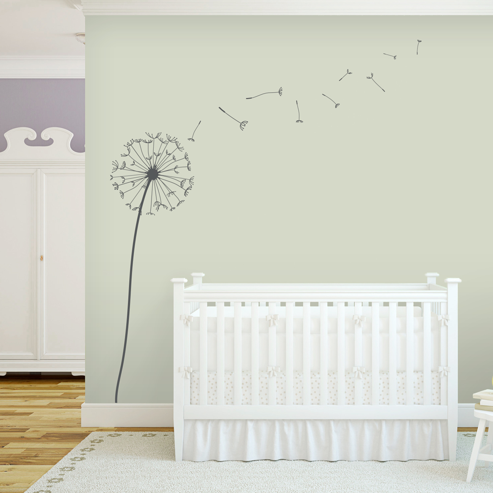 Dandelion wall mural images for Dandelion wall mural