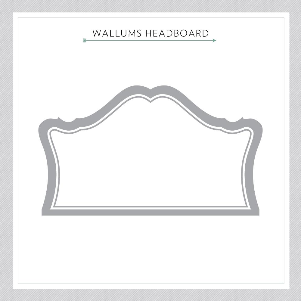 Marianne Headboard Wall Decal Headboard Wall Decal Sticker - Marianne Headboard Wall Decal