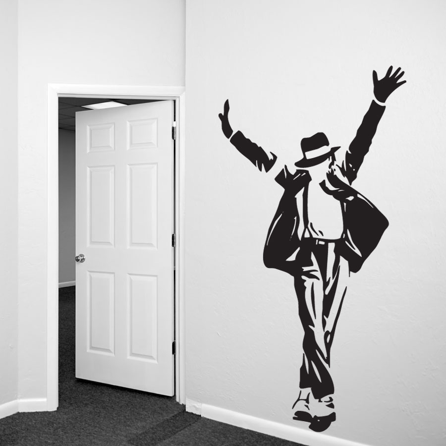 Michael Jackson Wall Decal Sticker