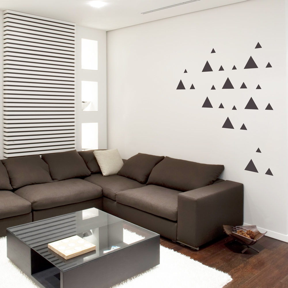 Tri triangles wall decal amipublicfo Gallery