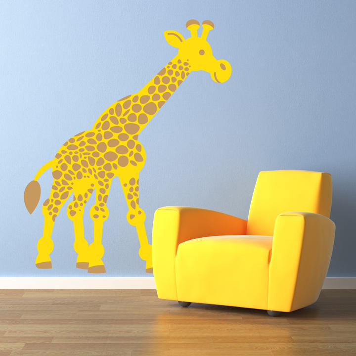 Exceptionnel Giraffe Wall Decal