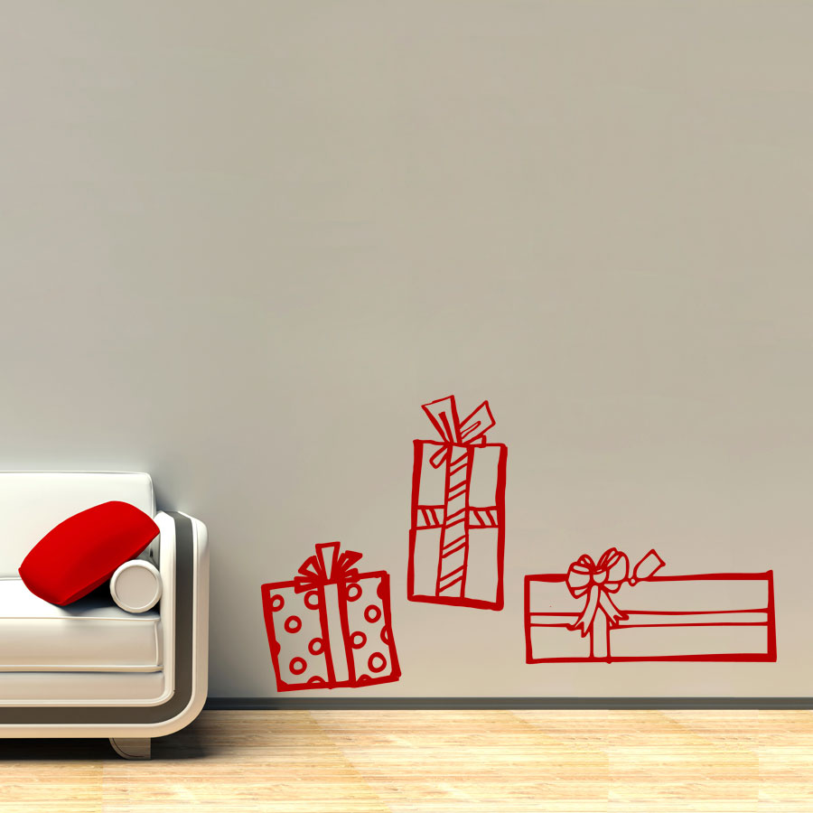 Christmas Presents Wall Decal ...