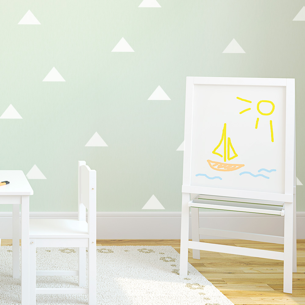Triangles wall decal triangle wall decals amipublicfo Gallery