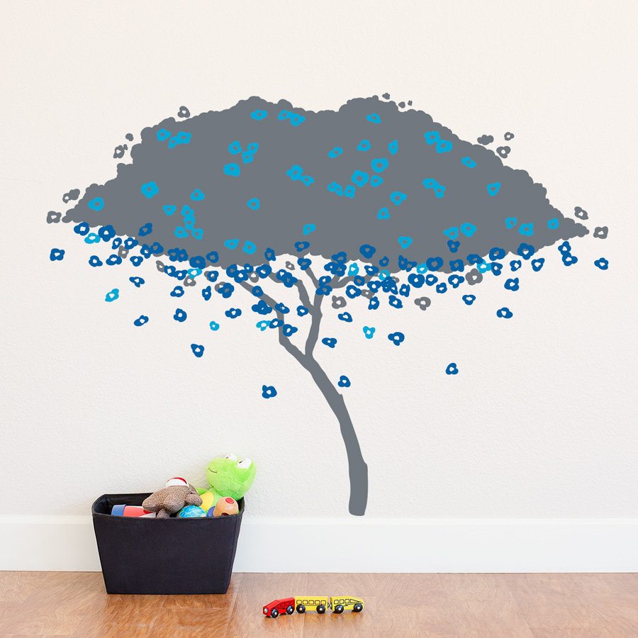 Nature wall decals nature wall stickers wallums page 12 large blossom tree wall decal amipublicfo Image collections
