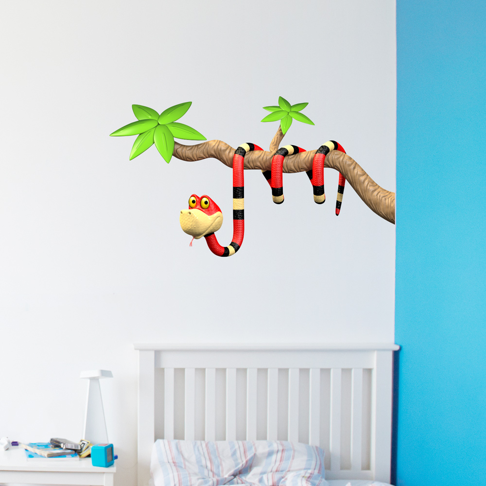 3d snake branch wall decal 3d snake branch green wall decal 3d snake branch red wall decal amipublicfo Images