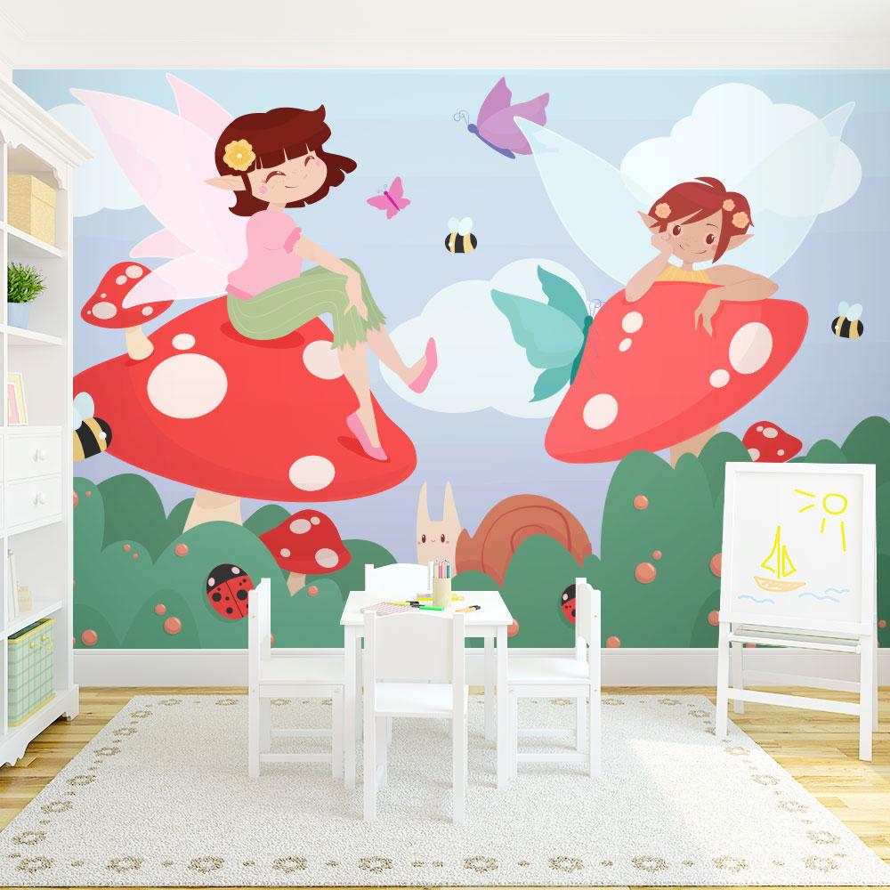 Fairy wall mural for Fairy wall mural