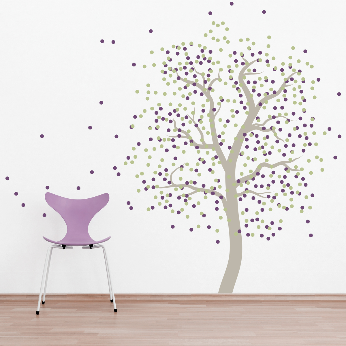 Confetti Tree Wall Decal - Wall decals