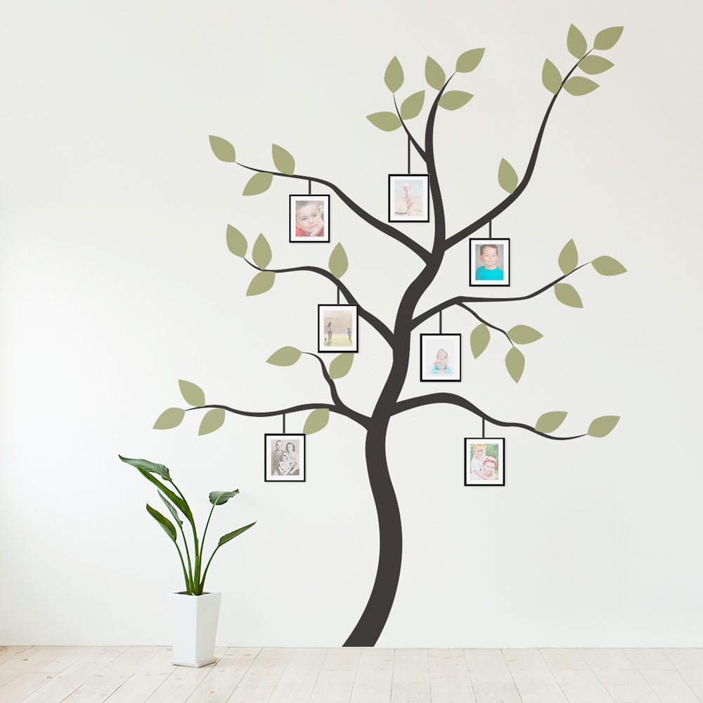 Family Tree Photo Wall display your family photos in a more creative way with this lovely