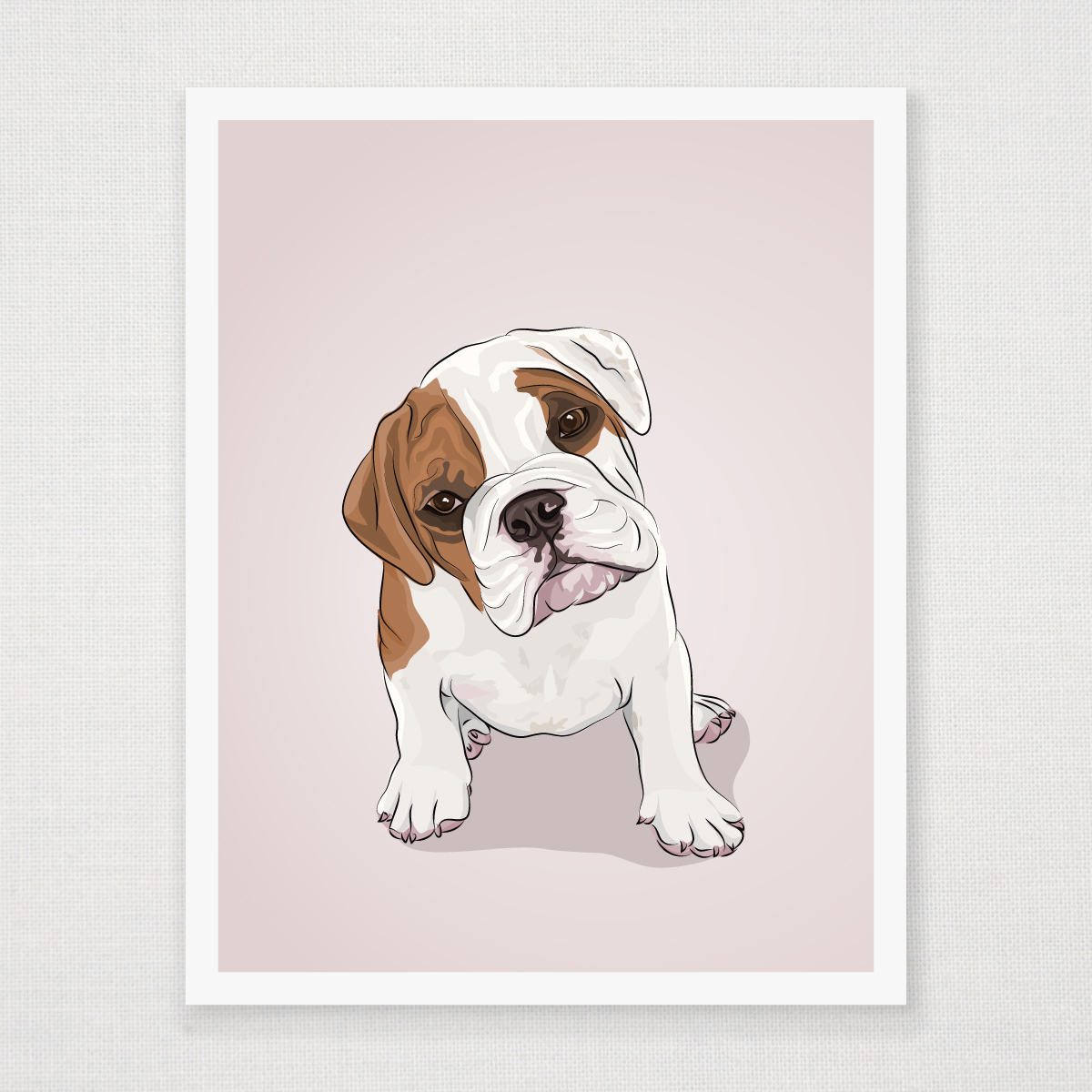 English Bulldog Art | www.imgkid.com - The Image Kid Has It!
