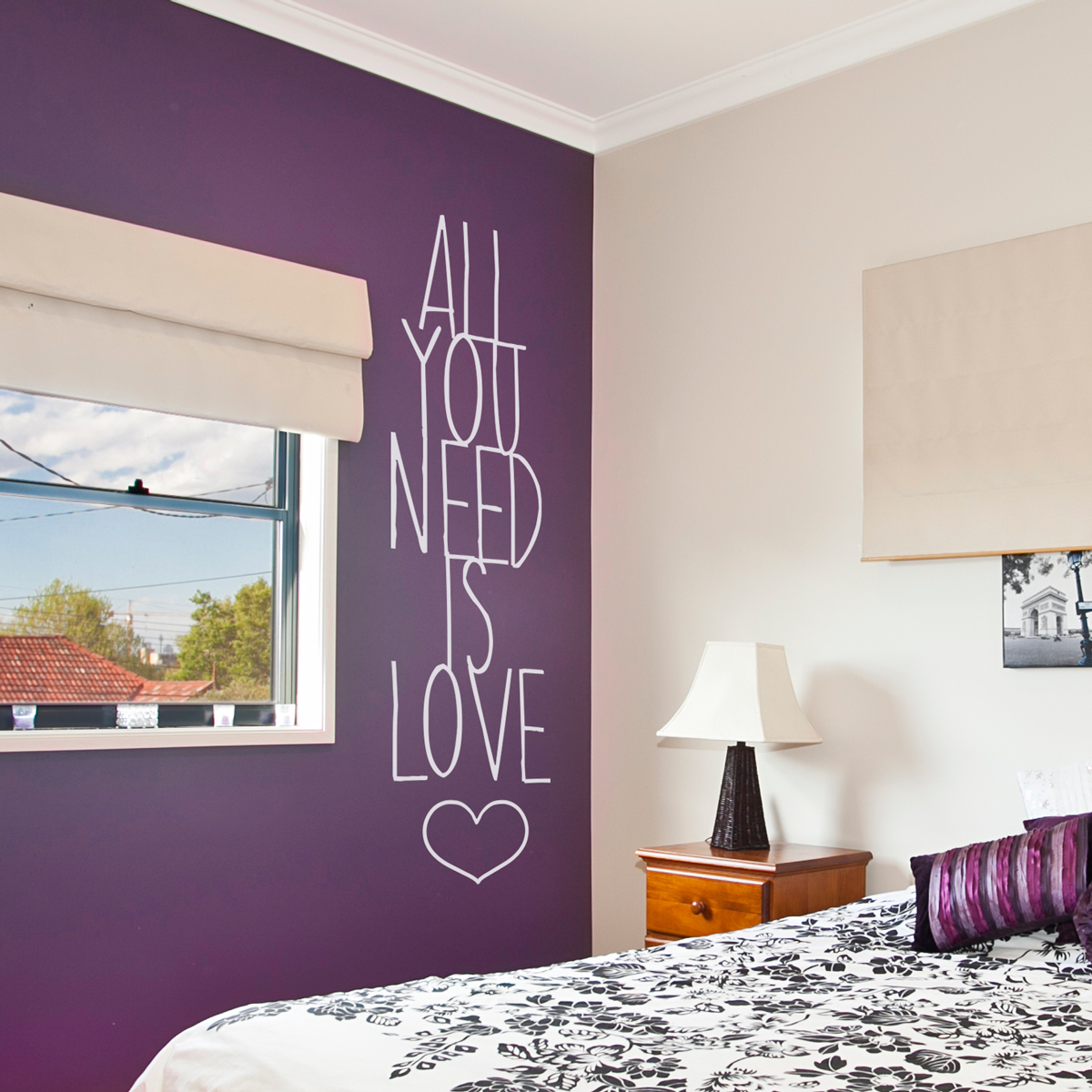 Love Wall Quotes All You Need Is Love Wall Quote Decal
