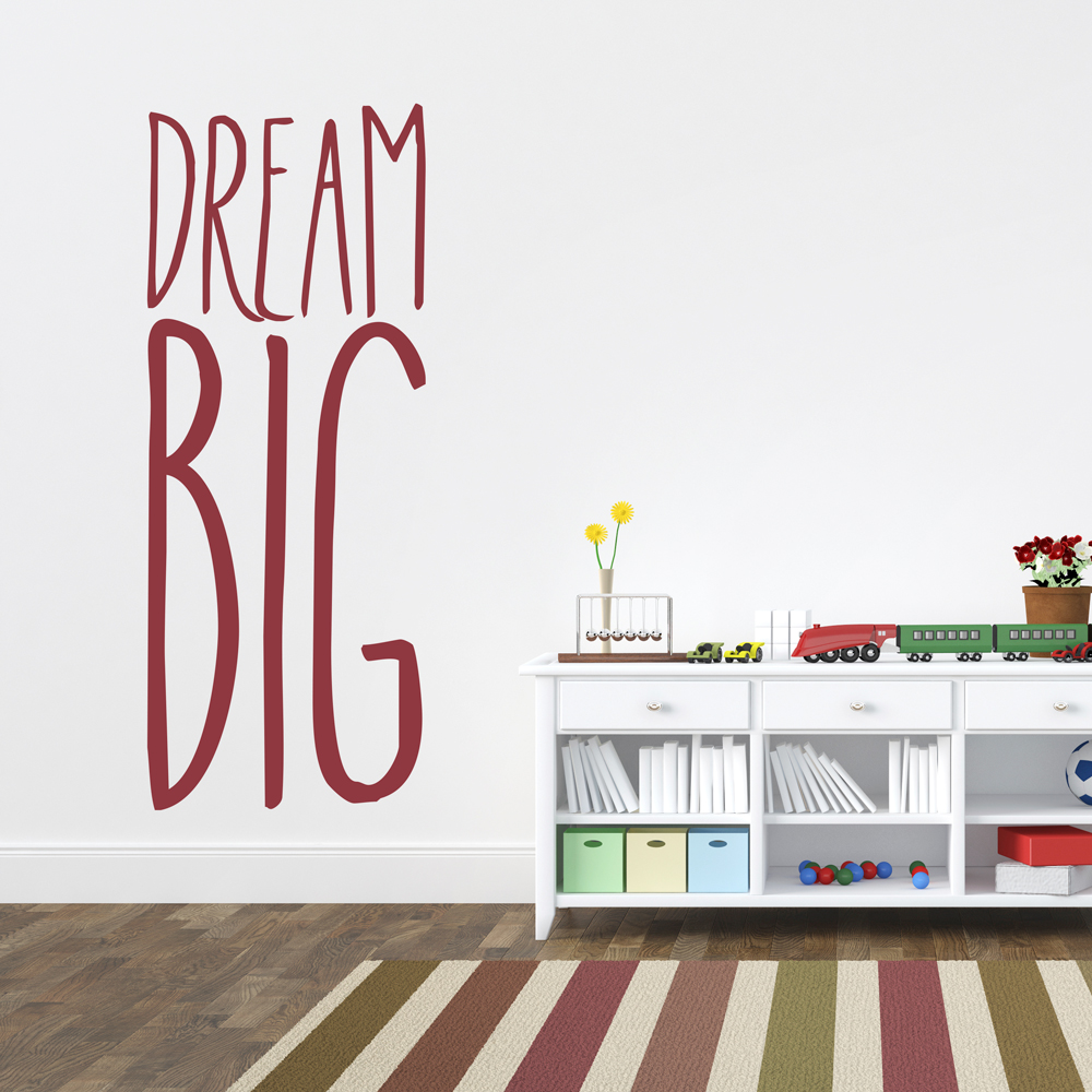 dream big wall art - dream big wall decal
