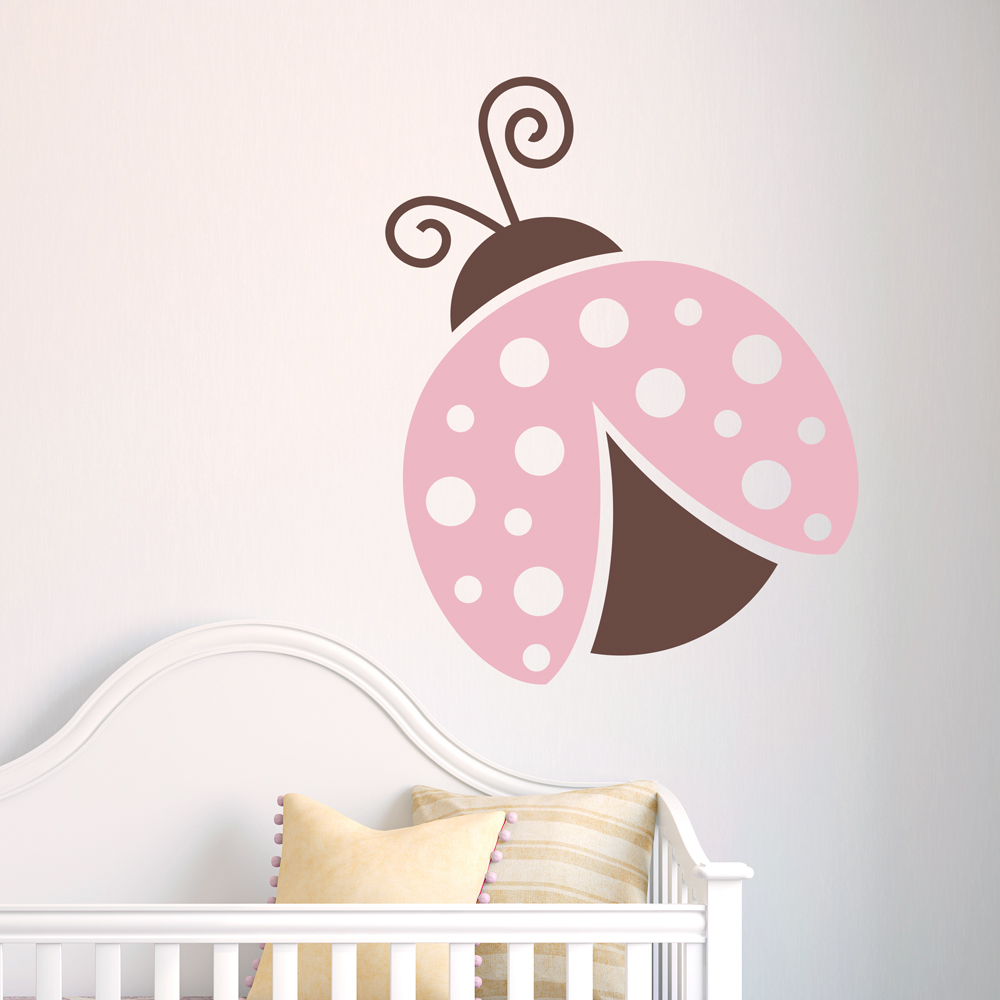 ladybird wall stickers custom wall stickers lovely ladybug wall decal