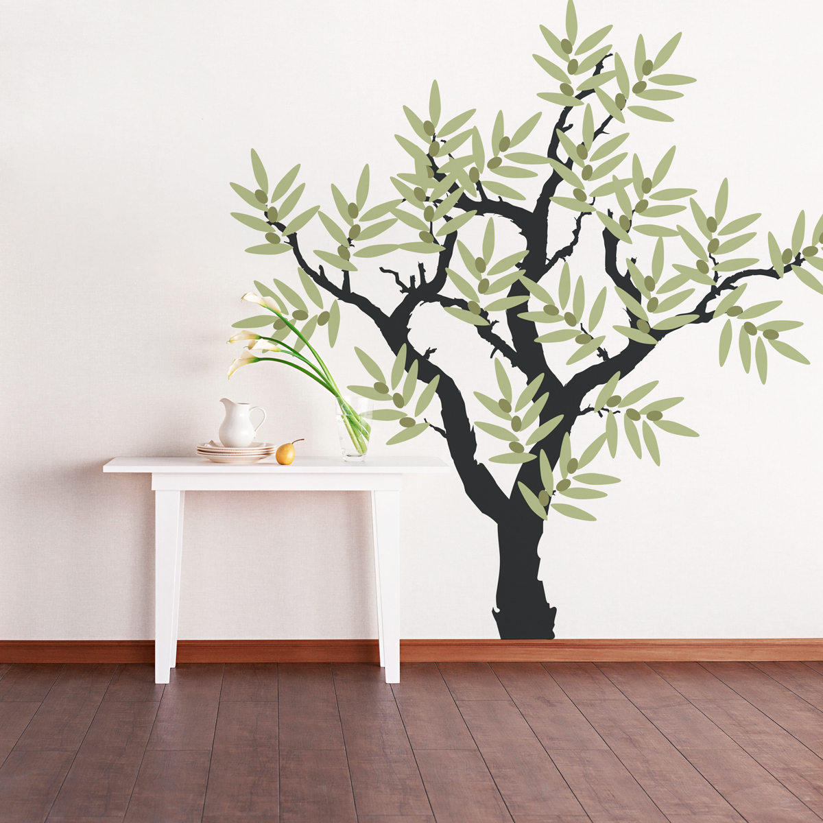 Design Tree Wall Decals olive tree wall decal