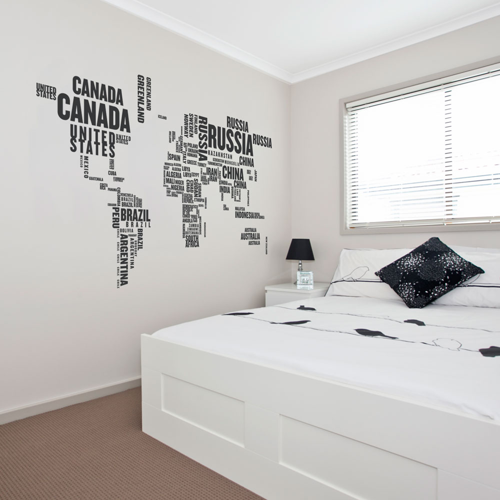 World Countries Wall Decal Part 89
