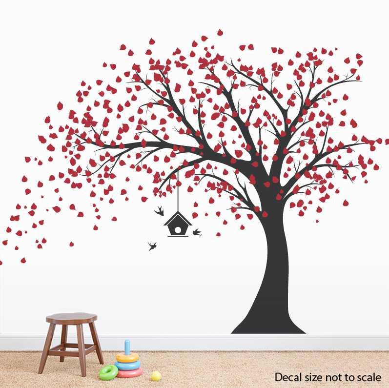 black tree wall stickers related keywords suggestions