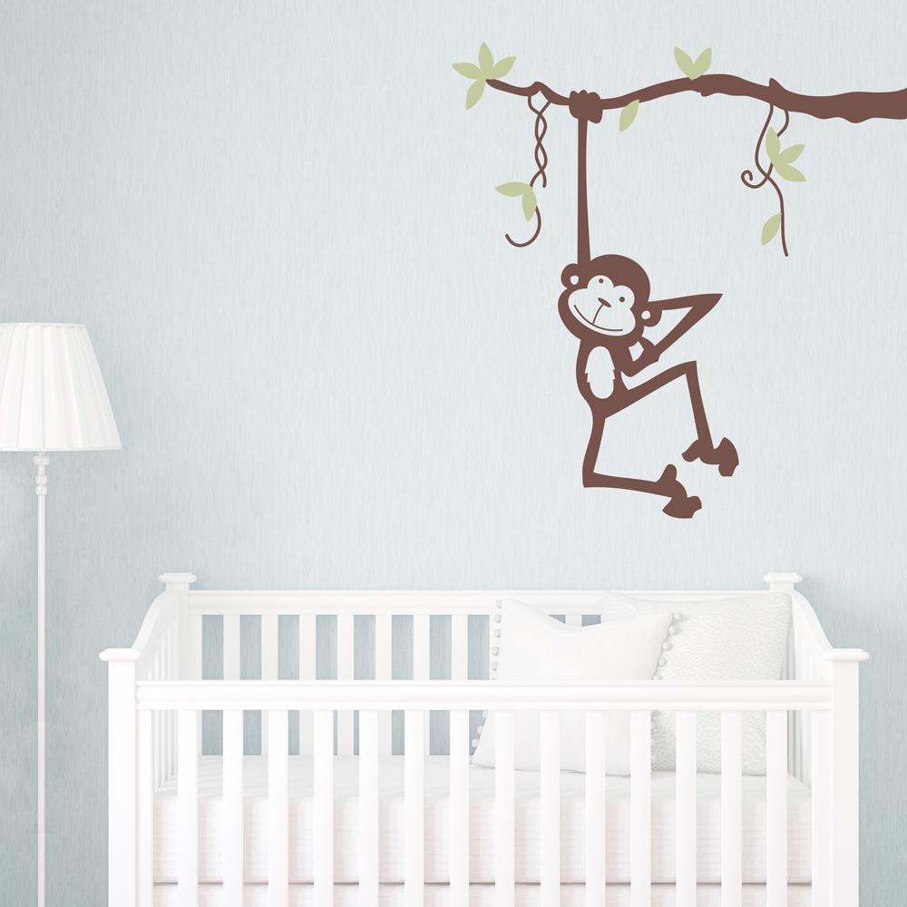 monkey business wall art decal
