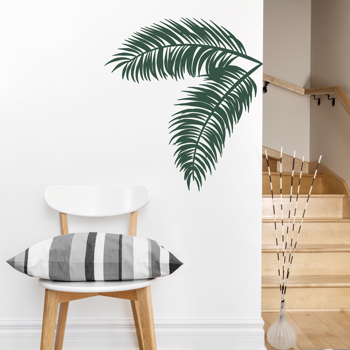 Marvelous Palm Leaves Wall Decal These Palm Tree ...