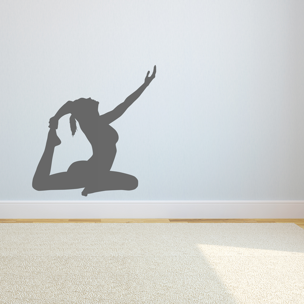 Yoga wall decal amipublicfo Images
