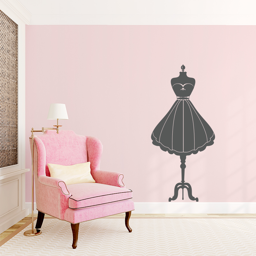 Fashion Mannequin Wall Decal - Wall decals like wallpaper