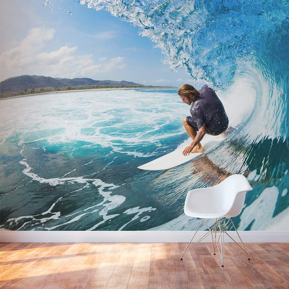 big surf wall mural crystal waves surf wall mural and removable sticker