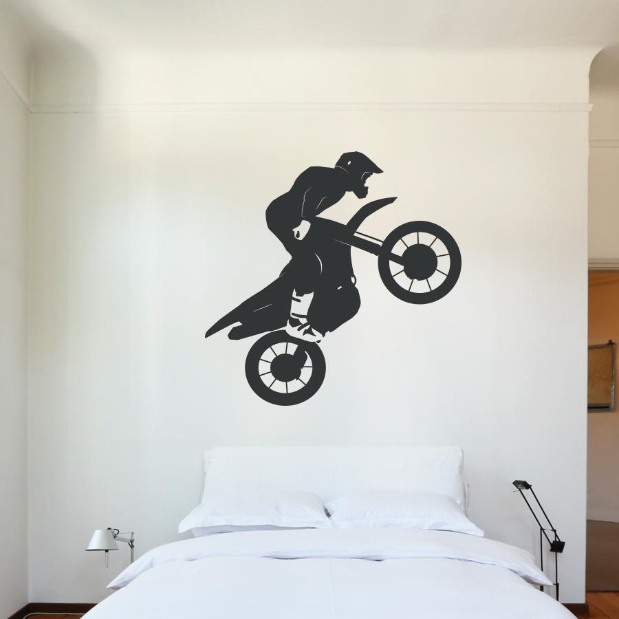 Motocross Jump Wall Decal Part 90