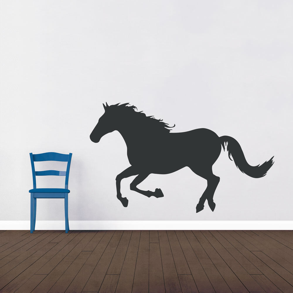 Charmant Running Horse Wall Art Decal
