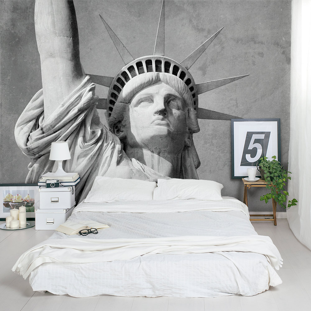 statue of liberty wall mural statue of liberty bedroom wall mural