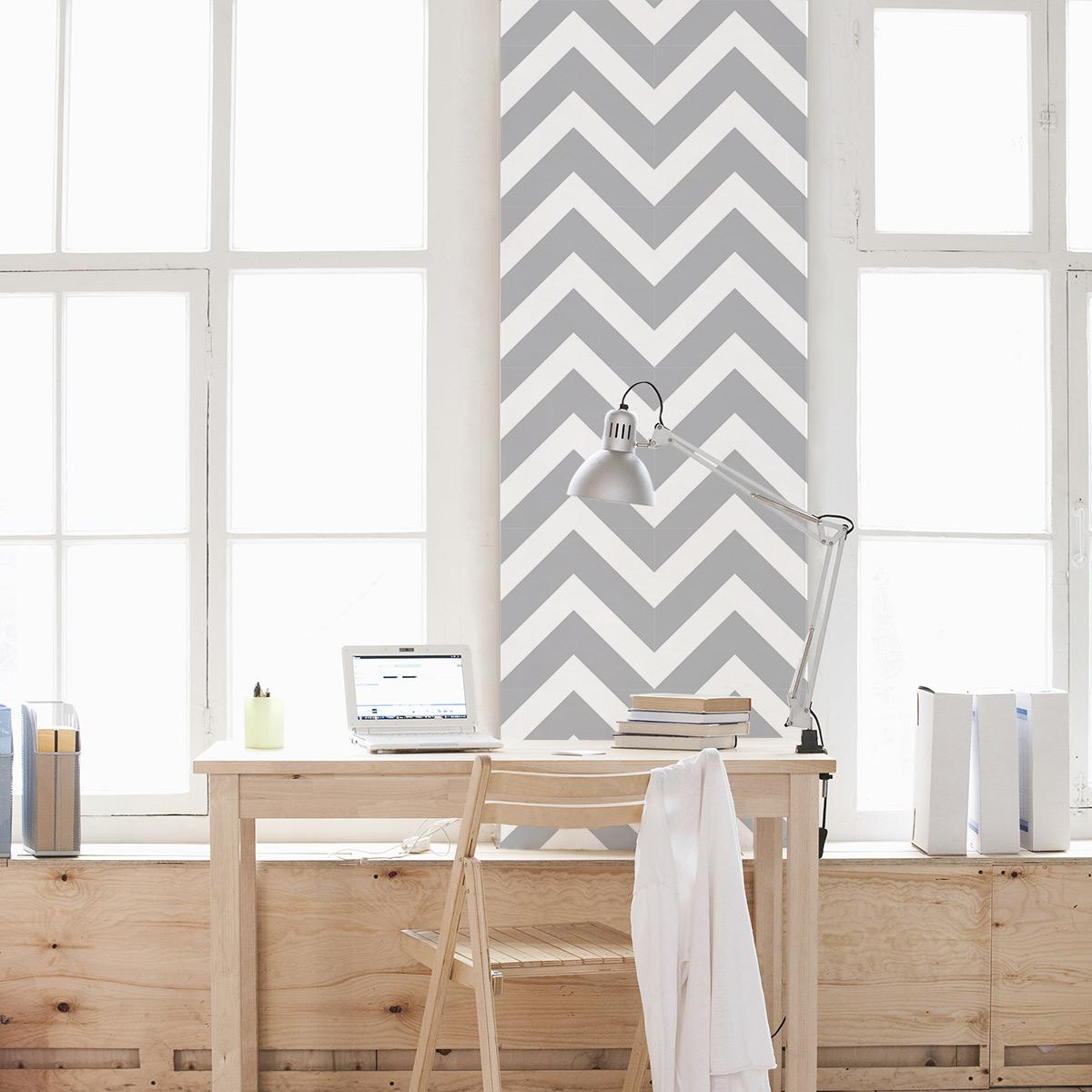 Removable Wallpaper chevron stripes removable wallpaper