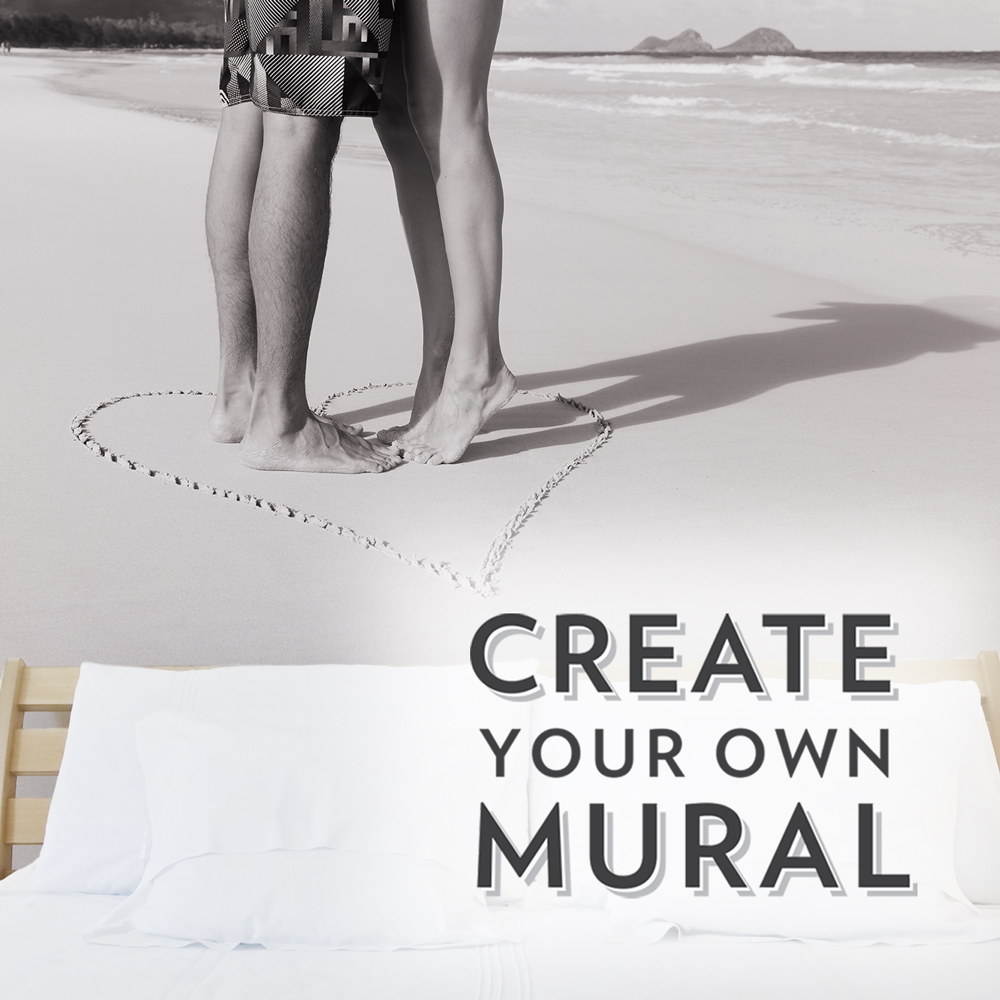 Design your own wall mural create your own wall mural for Design your own wallpaper