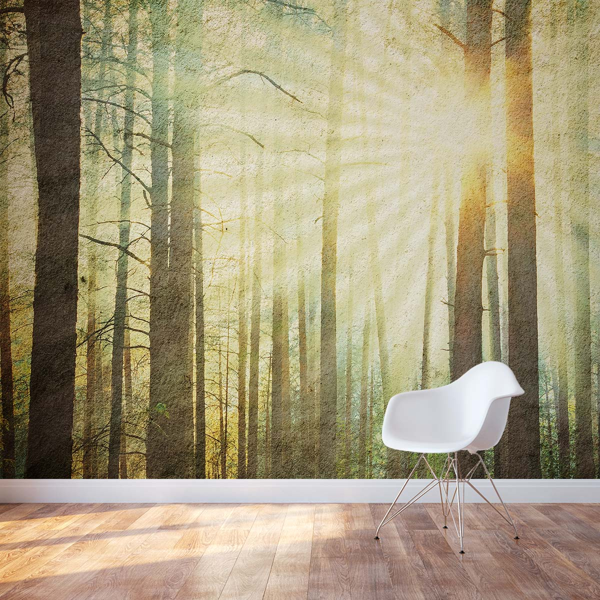 forest wonderland wall mural rainbow forest wall mural forest wallpaper