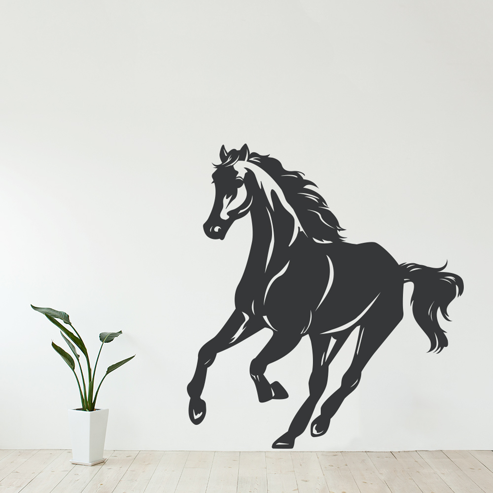 Galloping Horse Wall Decal - Wall decals horses