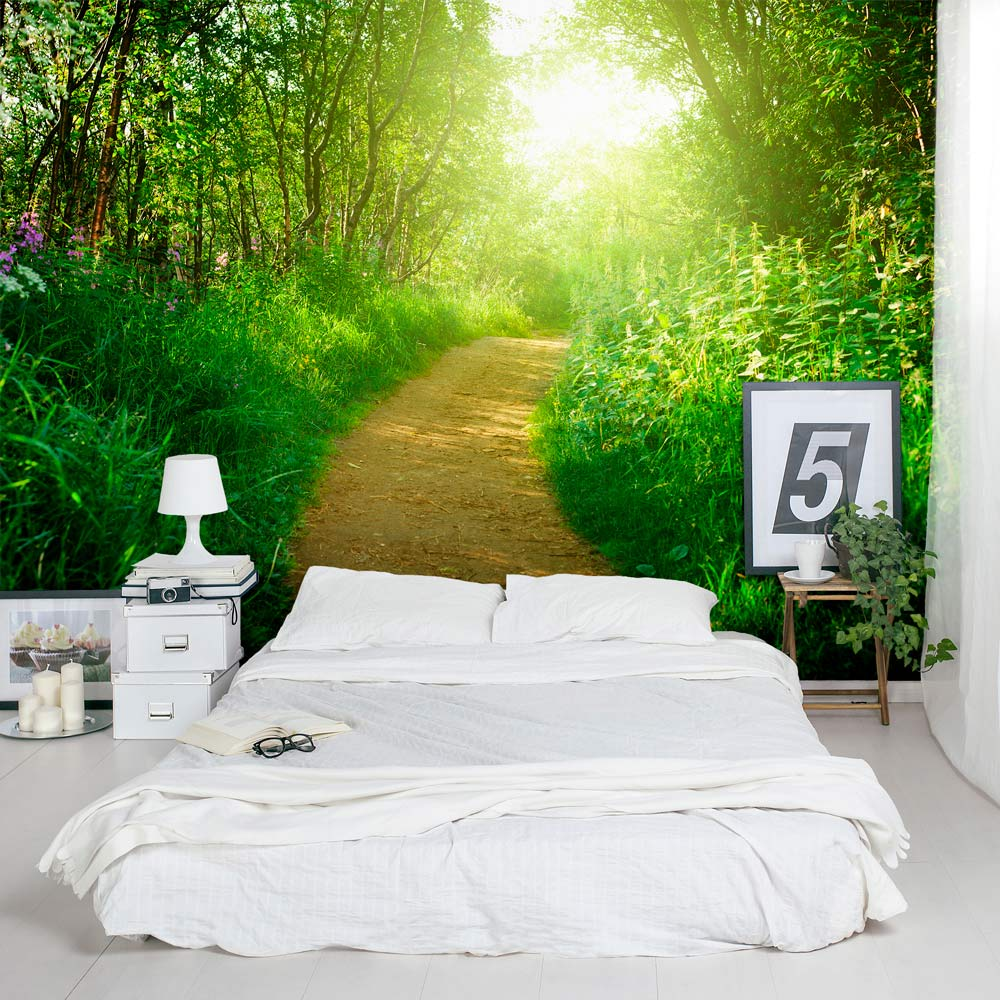 Nature 39 s path wall mural Nature bedroom