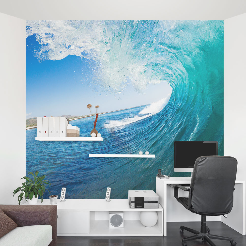 ocean wave wall murals wallpaper free best hd wallpapers ocean themed wall murals surf themed murals beach