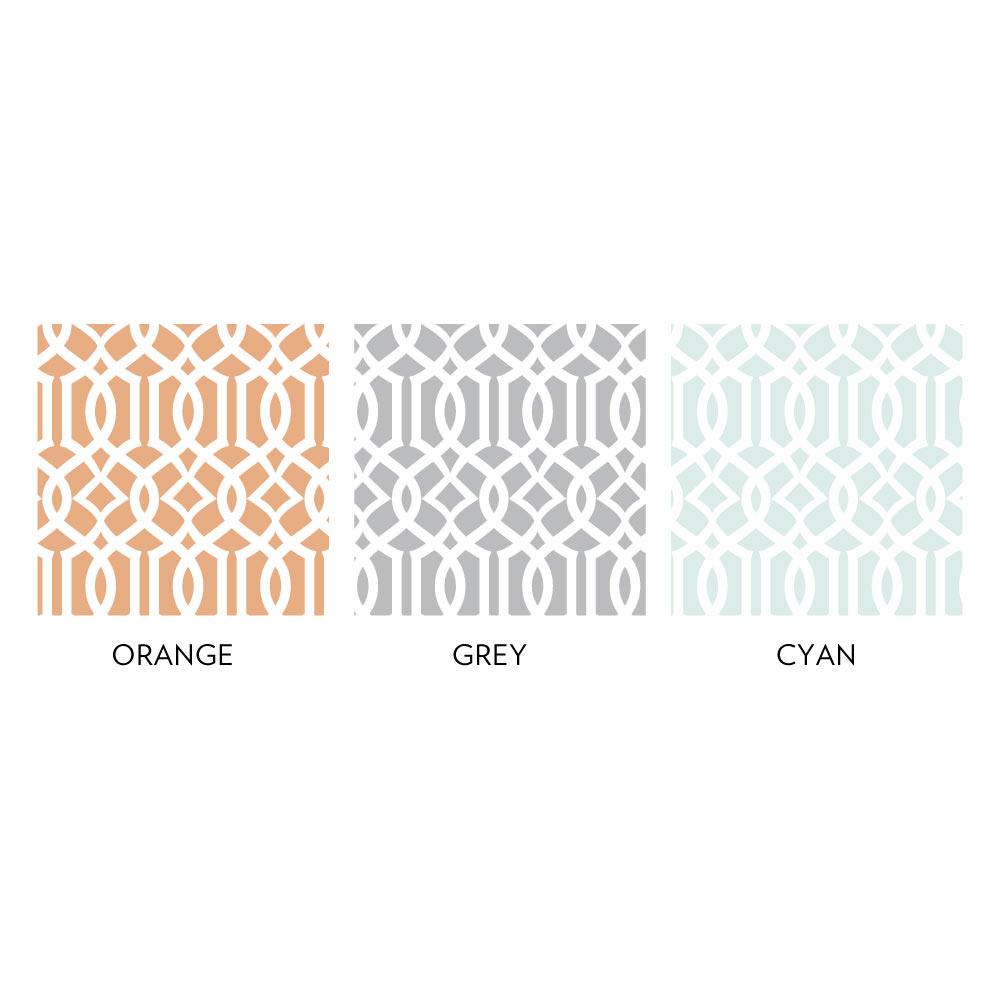 Trellis Wallpaper Tile Colors