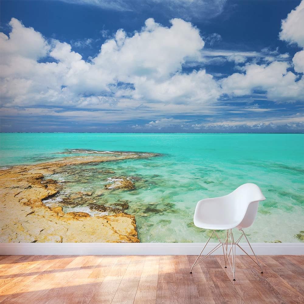 Turks Caicos Tropical Paradise Wall Mural