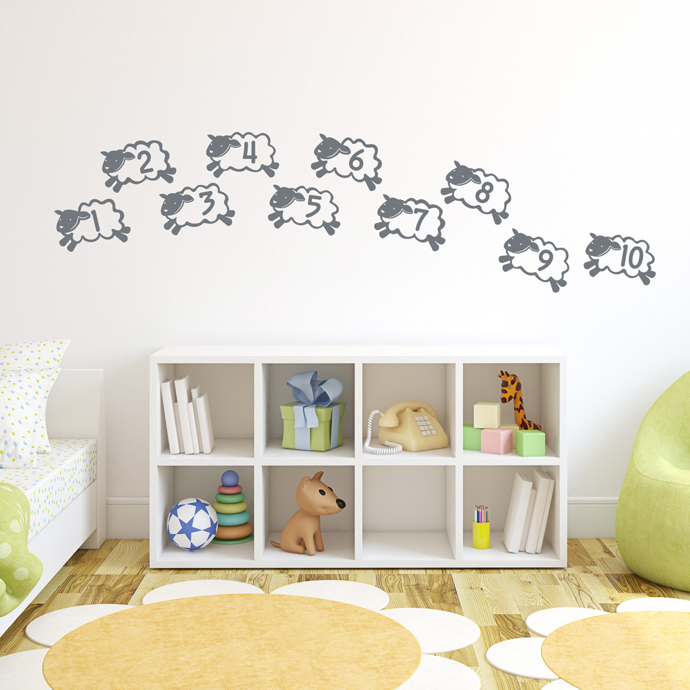 Counting Sheep Wall Decal ...