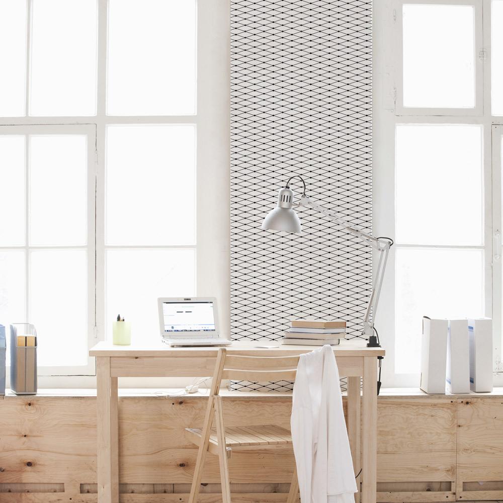 Removable Wallpaper Tiles fishnet stretch removable wallpaper tiles