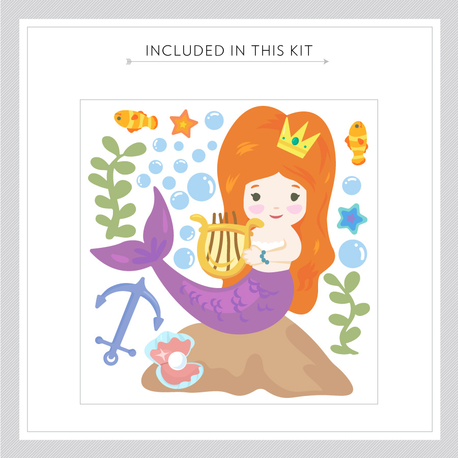 ... Wall Decal · Cute Mermaid Kit
