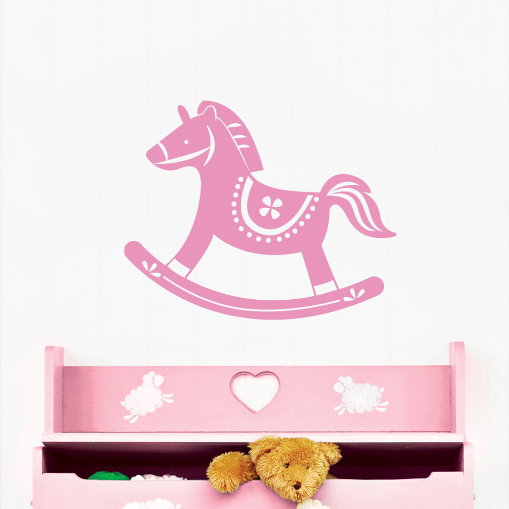 Rocking Horse Wall Decal Part 84