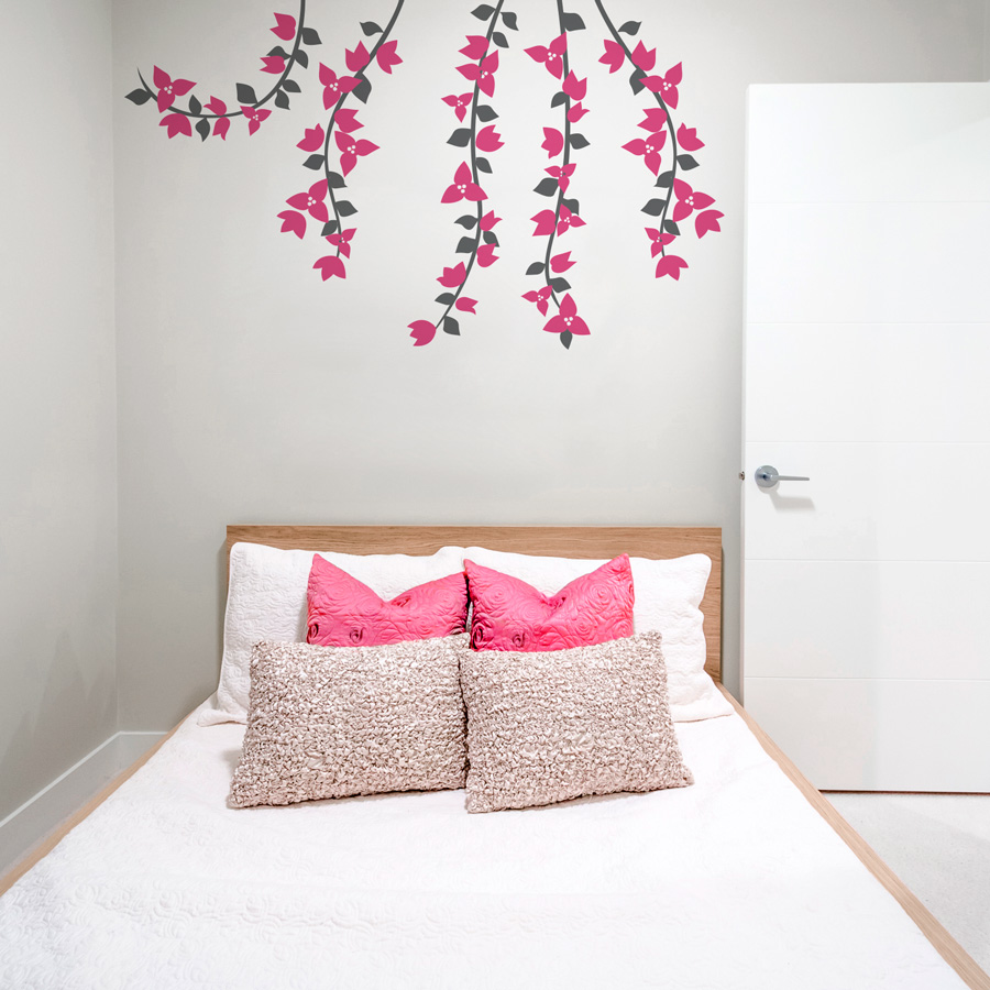 Delicieux Bougainvillea Flowers Wall Decal