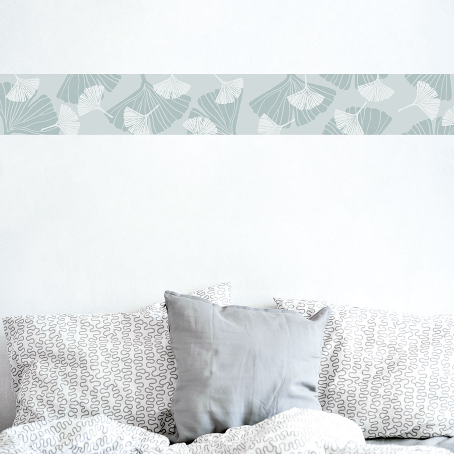 Ginkgo Leaves Removable Wallpaper Border ...