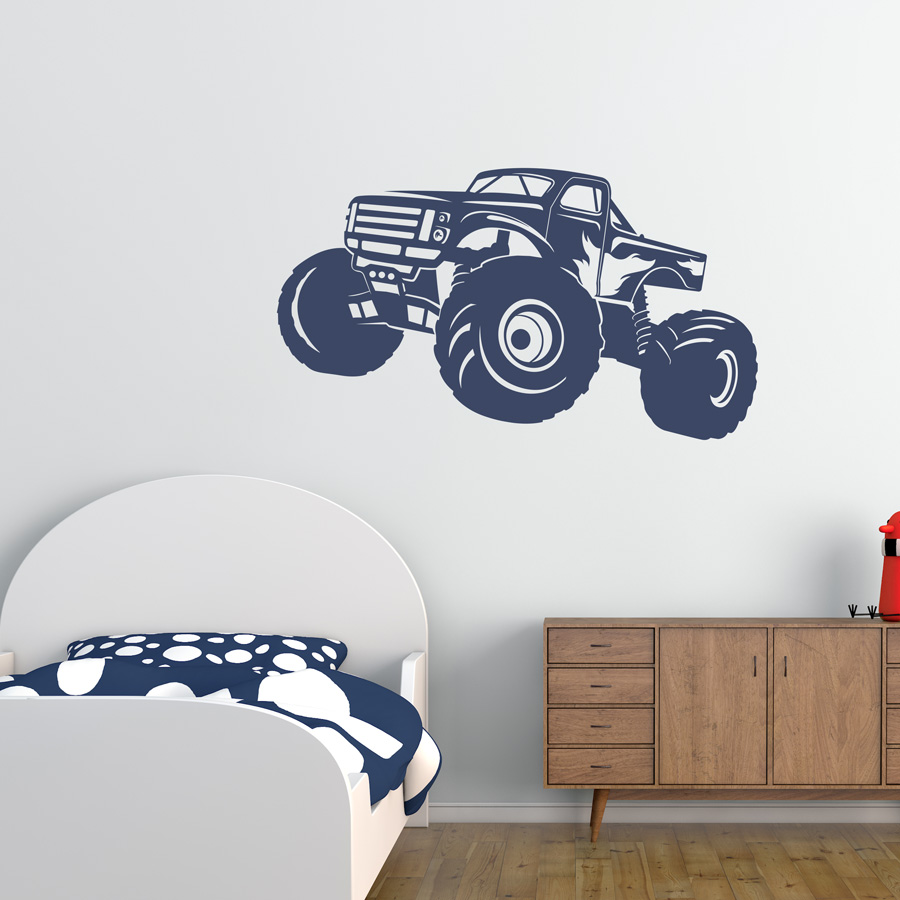 Monster truck wall decal amipublicfo Images